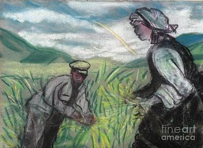 Harvest Art Print by Duygu Kivanc