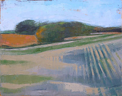 Painting - Harvest Fields by Kim Gordon