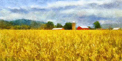 Digital Art - Harvest by Francesa Miller