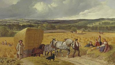 Painting - Harvest by Treasury Classics Art
