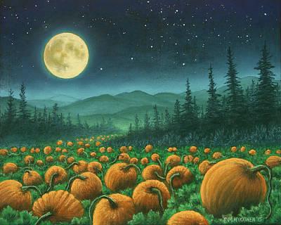 Pastel - Harvest Moon 01 by Michael Heikkinen