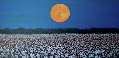 Harvest Moon Art Print by Jeanette Jarmon