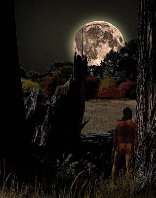 Pagan Nude Photograph - Harvest Moon by Norman Free