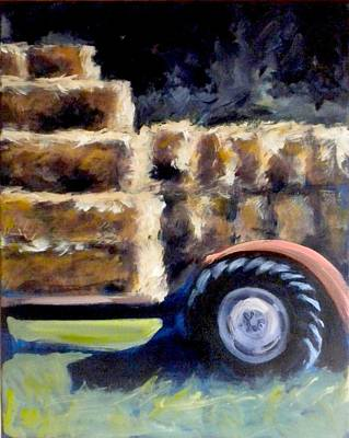 Bales Painting - Harvest by Paula Strother