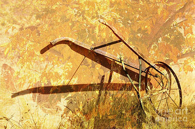 Harvest Plow Art Print