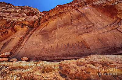 Photograph - Harvest Scene Rock Art in HDR by Scotts Scapes