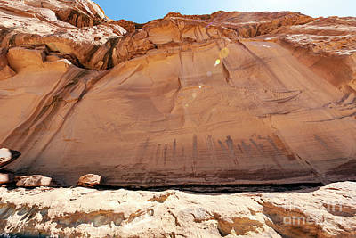Photograph - Harvest Scene Rock Art by Scotts Scapes