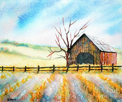 Painting - Harvest Season by Rebecca Davis