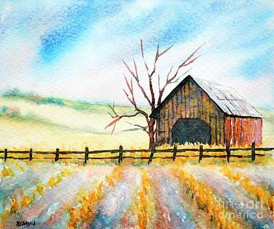 Painting - Harvest Season by Rebecca Davis