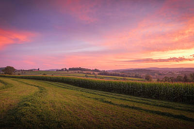 Photograph - Harvest Sky by Kim Carpentier