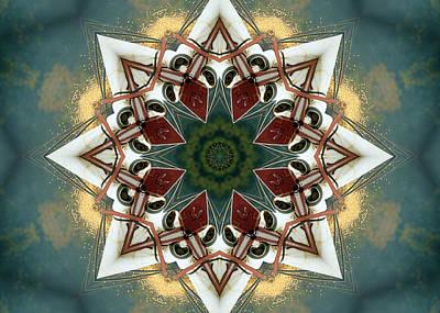 Mandala Photograph - Harvest Star by Cricket Hackmann