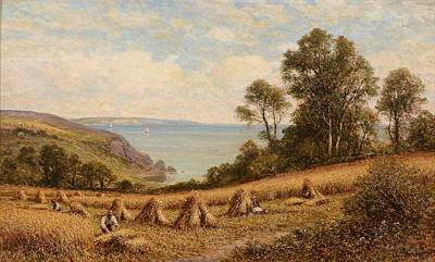 Harvest Time Art Print by Alfred Augustus