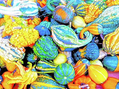 Digital Art - Harvest Time by Ann Johndro-Collins