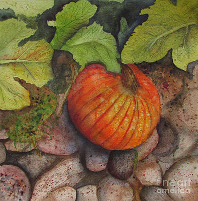 Give Thanks Painting - Harvest Time by Donlyn Arbuthnot