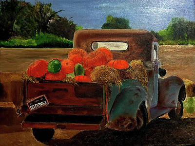 Painting - Harvest Time In Arkansas by JoeRay Kelley