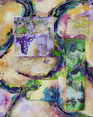 Mixed Media - Harvest Time by Kathie Selinger