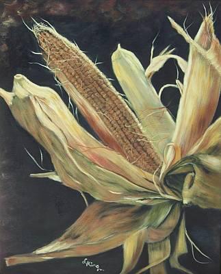 Linda King Painting - Harvest Time by Linda King