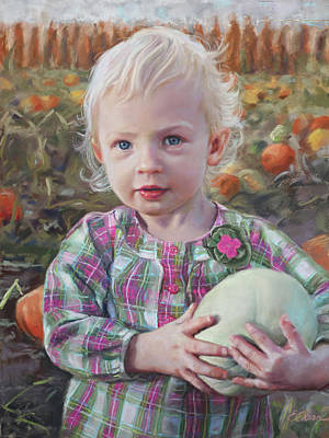 Pastel - Harvest Treasure by Emily Olson