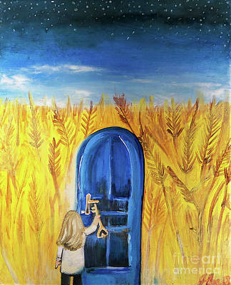 Painting - Harvester by Jennifer Page