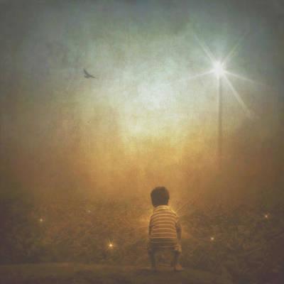Digital Art - Harvesting Stars by Melissa D Johnston