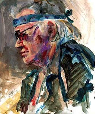 Painting - Harvey by Chuck Berk