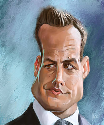 Harvey Specter Art Print