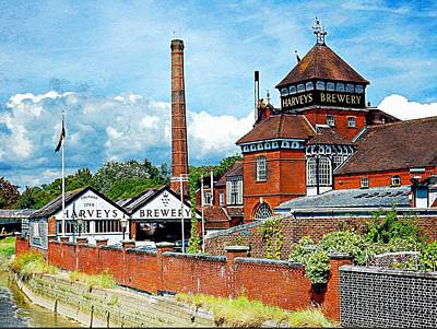 Photograph - Harveys Brewery Lewes by Dorothy Berry-Lound