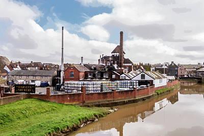 Digital Art - Harveys Brewery - Lewes. by Hazy Apple