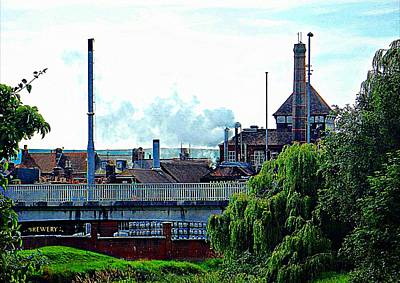 Photograph - Harveys Brewery Lewes Rear View by Dorothy Berry-Lound