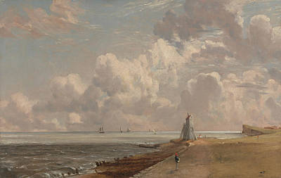 Beacon Hill Painting - Harwich The Low Lighthouse And Beacon by MotionAge Designs