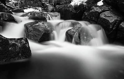 Photograph - Harz Mountain Stream by Andreas Levi