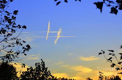 Photograph - Hashtag Sky by Lew Davis