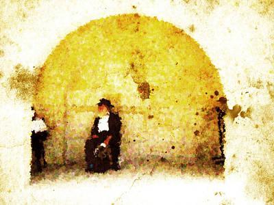 Talmud Digital Art - Hasidim by Andrea Barbieri