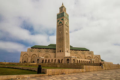 Photograph - Hassan 11 Mosque, Casablanca, Morocco by Venetia Featherstone-Witty