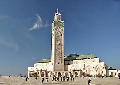 Photograph - Hassan II Mosque, Casablanca by Allan Rothman