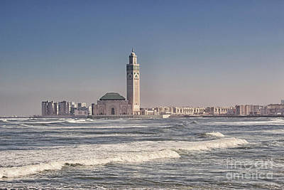 Photograph - Hassan II Mosque Casablanca by Lynn Bolt