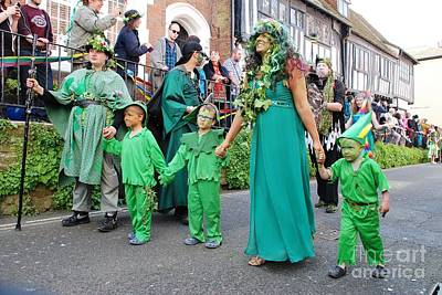 Photograph - Hastings Jack In The Green Parade by David Fowler
