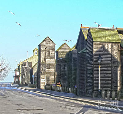 Photograph - Hastings Net Lofts by Terri Waters