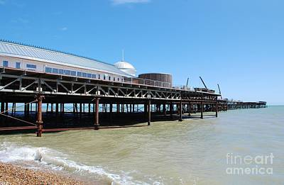 Photograph - Hastings Pier, East Sussex by David Fowler
