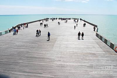 Photograph - Hastings Pier Head by David Fowler