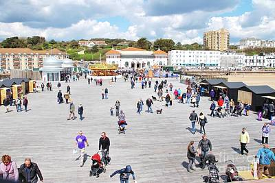 Photograph - Hastings Pier In Sussex by David Fowler