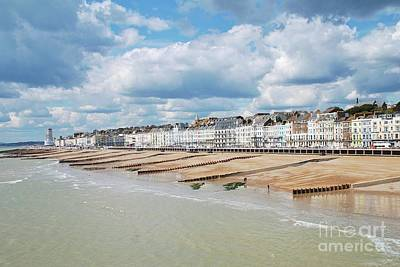 Photograph - Hastings Seafront From The Pier by David Fowler