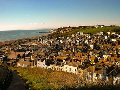 Photograph - Hastings, Sussex, England by Samuel Pye