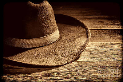 Photograph - Hat by American West Legend By Olivier Le Queinec
