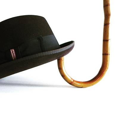 Photograph - Hat And Cane by Colleen VT