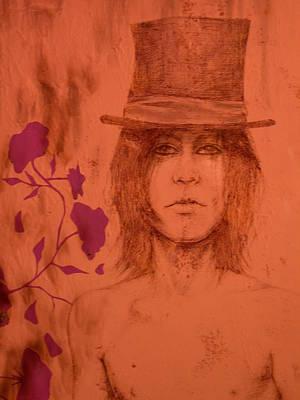 Hat Boy Art Print by J Oriel