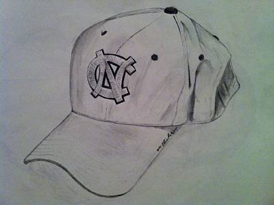 Drawing - Hat by Mike Eliades