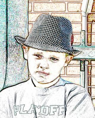 Hat Of A Hero Art Print by Lynn Reid