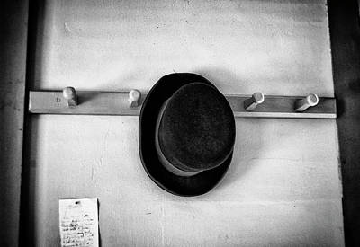 Photograph - Hat On A Peg by Marvin Borst