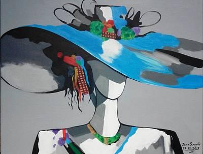 Painter Mixed Media - Hat by Zana Rruplli